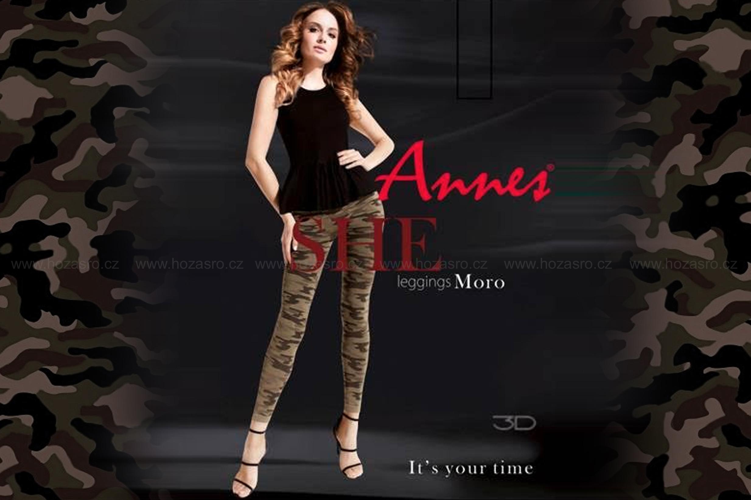 Legíny Annes Moro - ARMY styl - novinka jaro 2017 - Annes-04