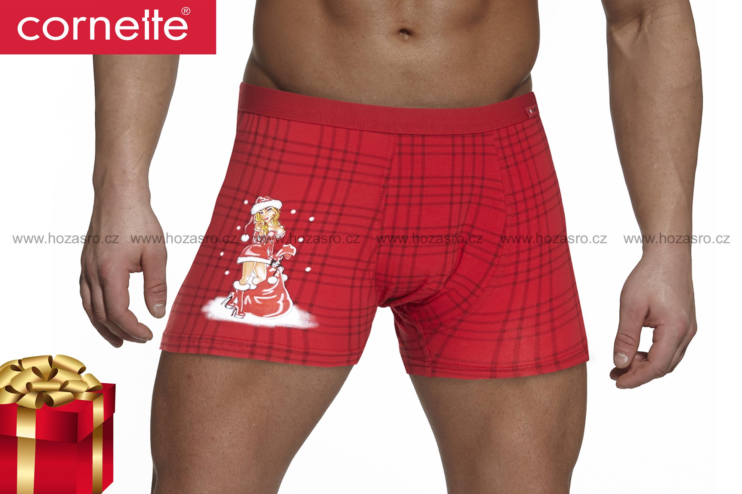 Boxerky Cornette Vánoční - Sexy Santa - VANOCE-00717