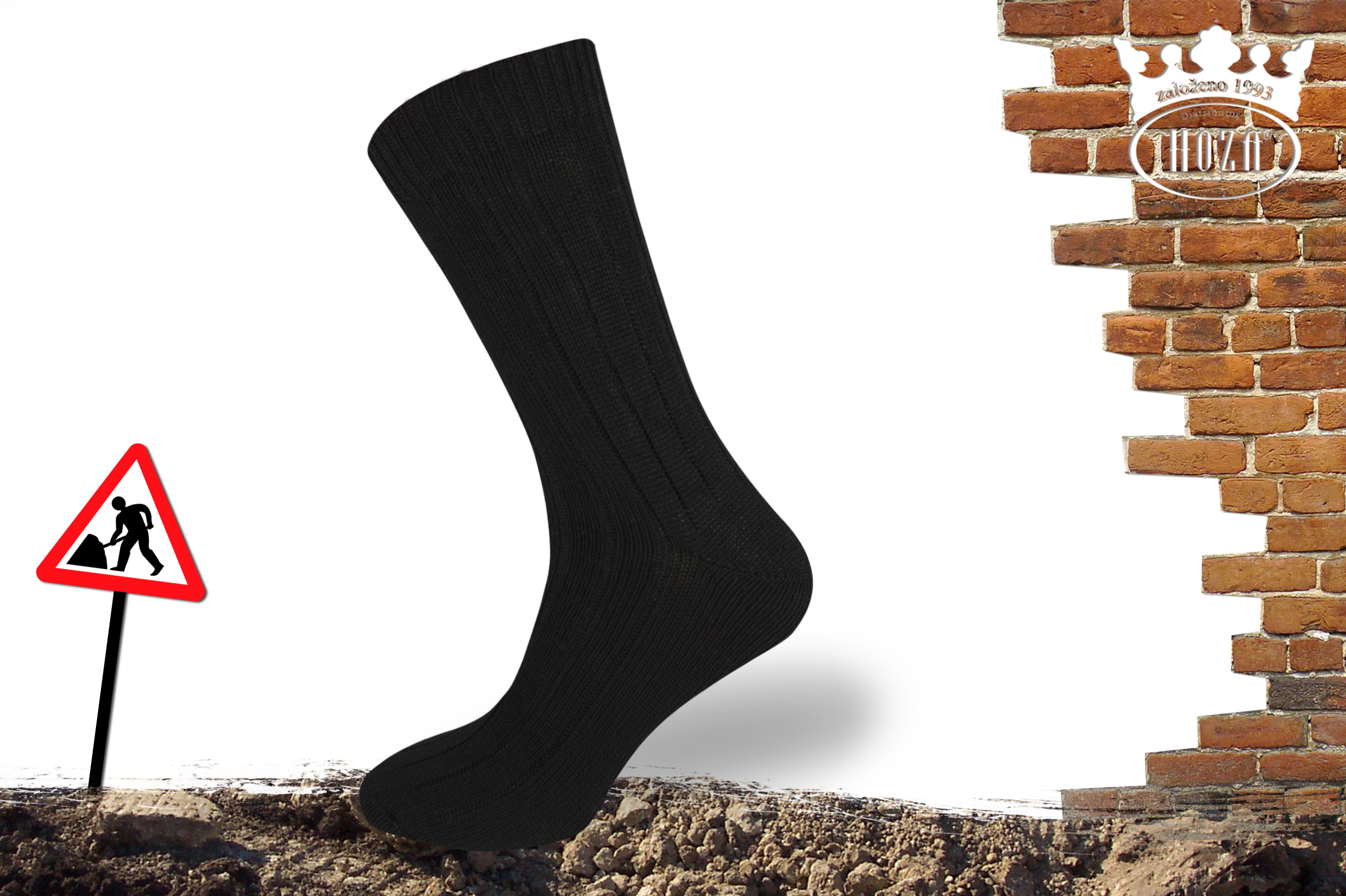 Pracovní ponožky HOZA - H017