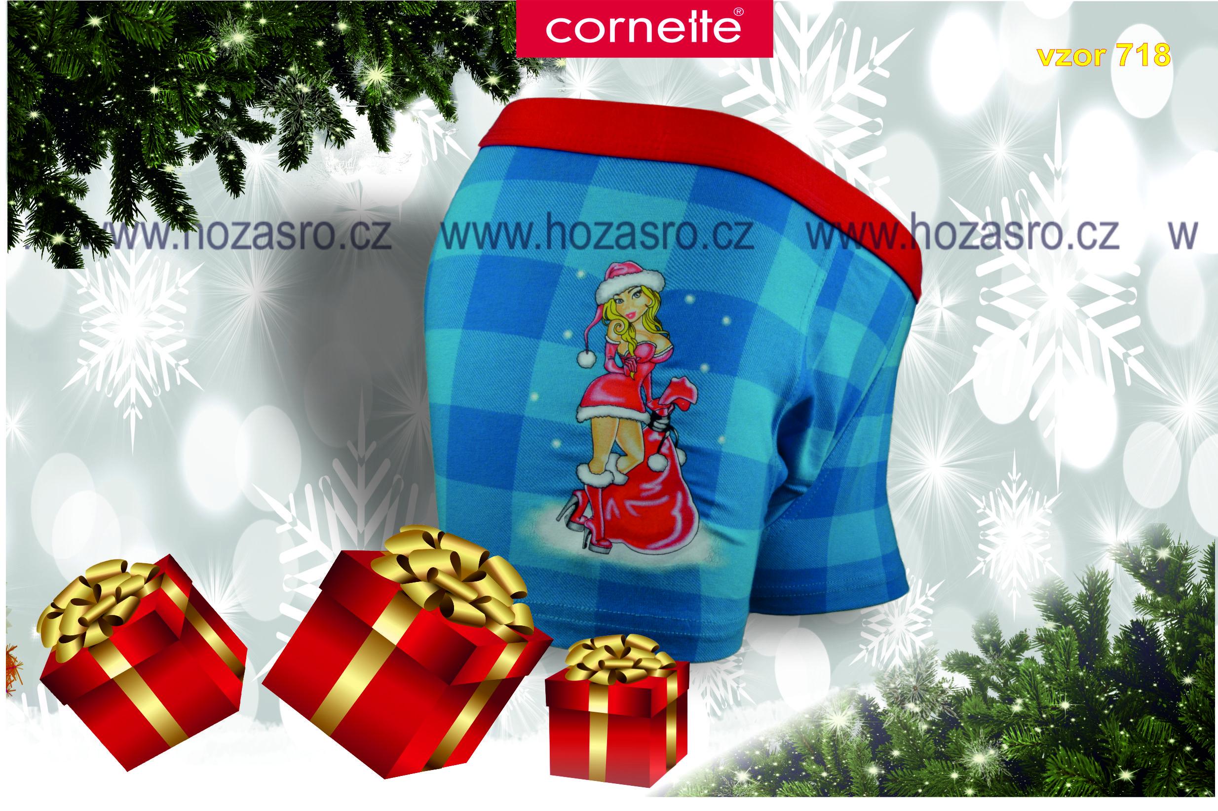 Boxerky Cornette Vánoční - Sexy Santa - VANOCE-00718