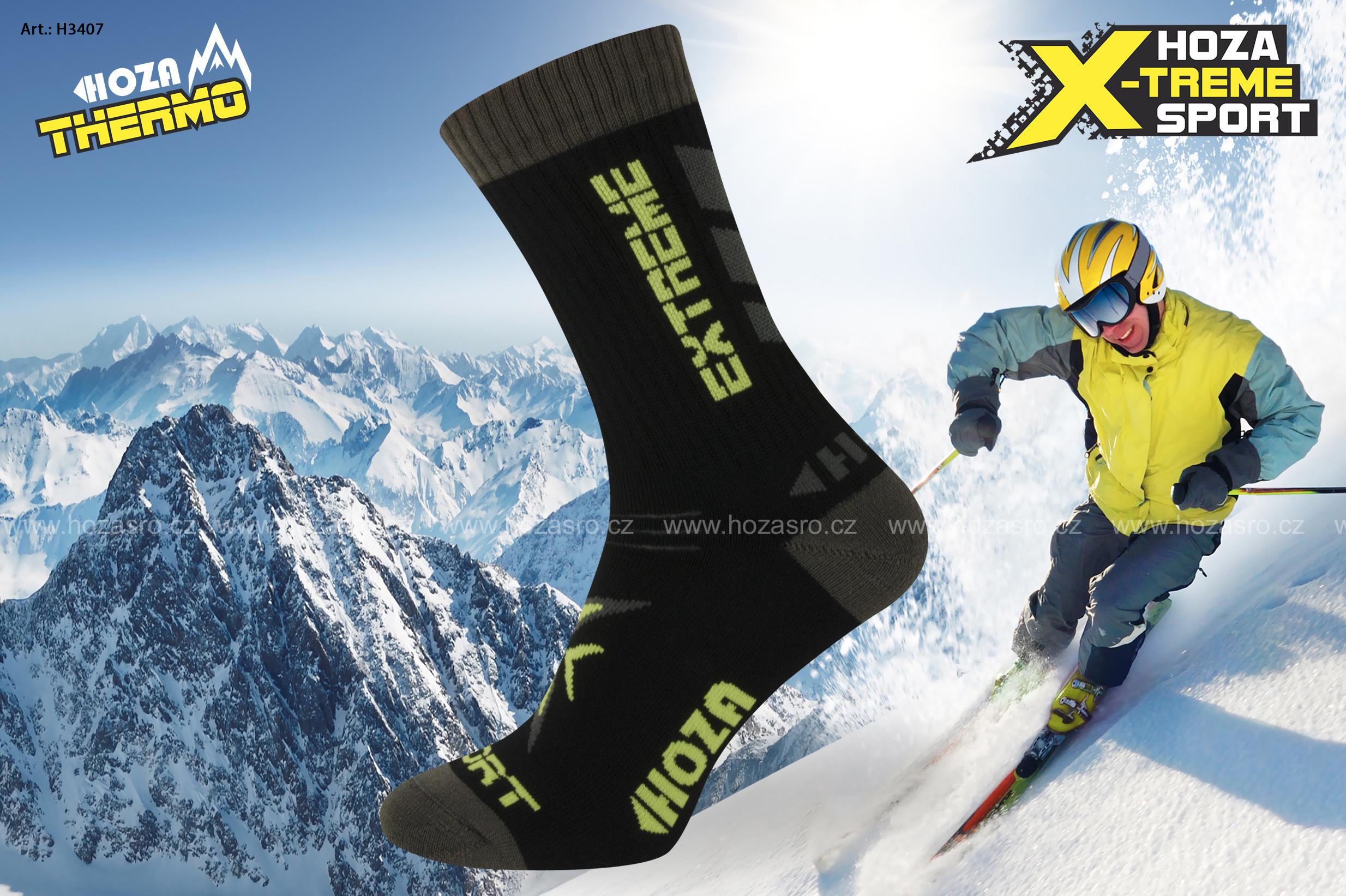 HOZA Extreme Thermo - funkční ponožky - H3407