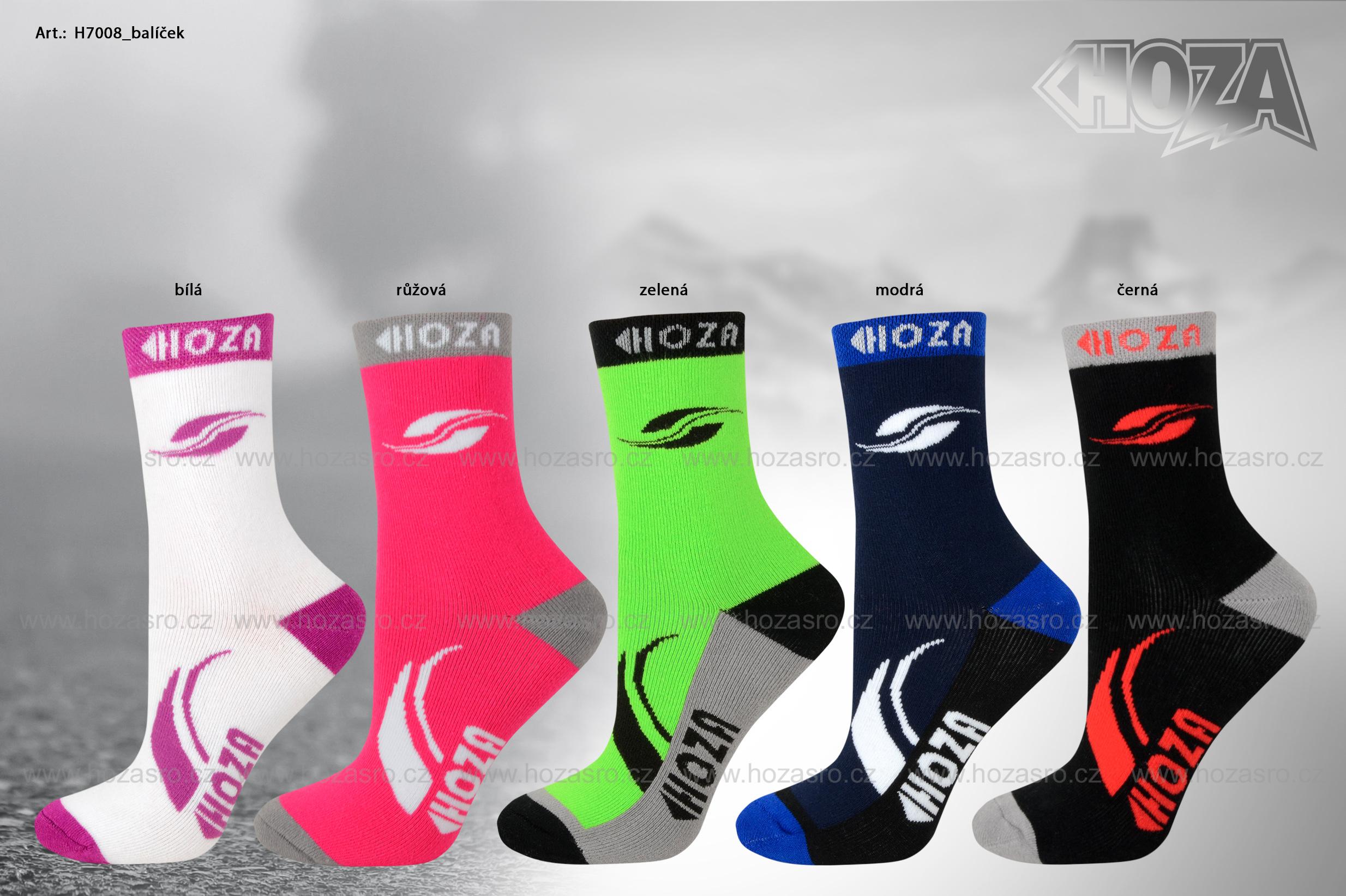 Dětské ponožky HOZA THERMO Froté - Sport 2v1 - H7008