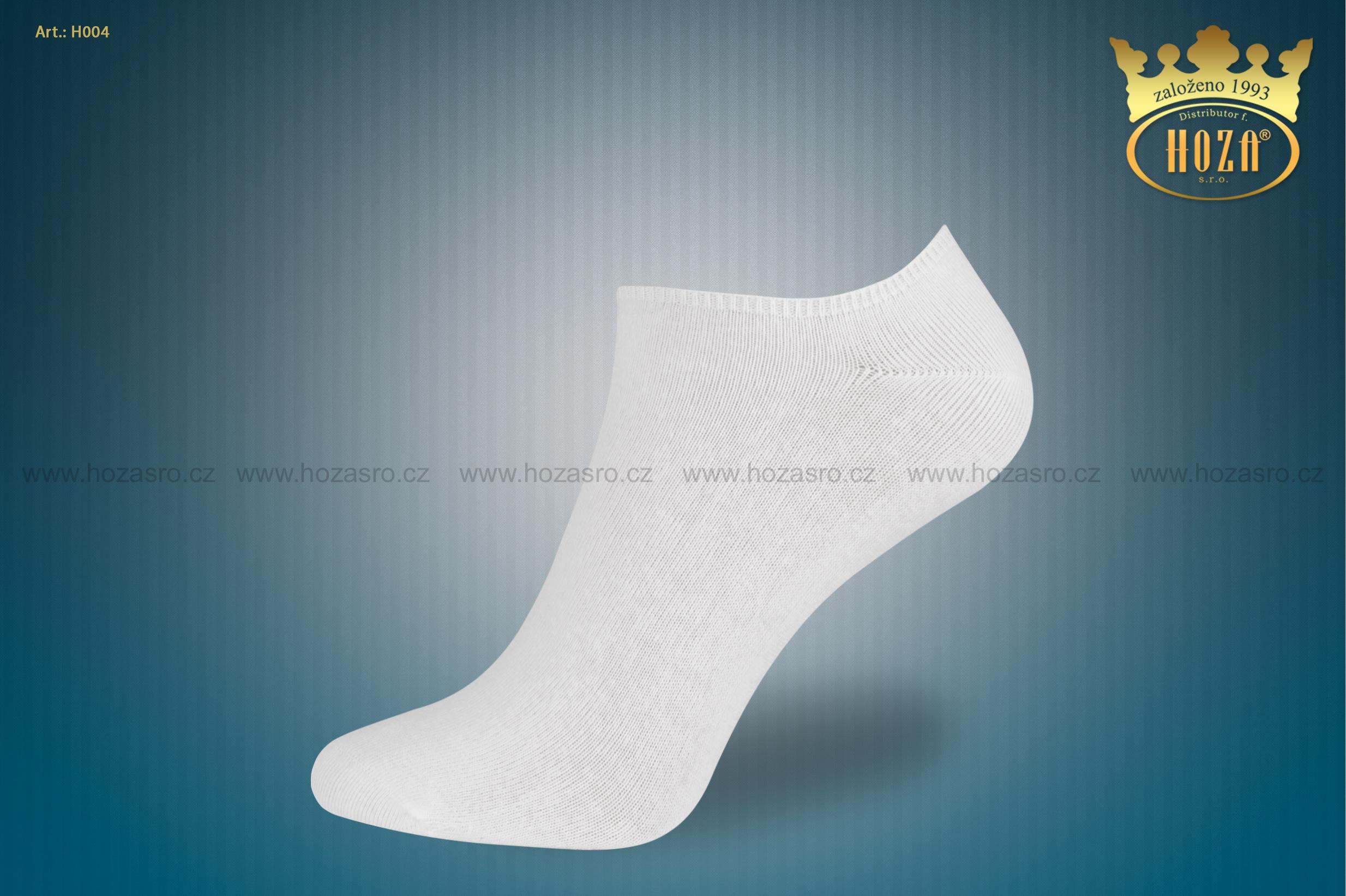 c7b101fddec ... kotníkové ponožky HOZA s elastanem - bílé. otevřít v maximálním  rozlišení