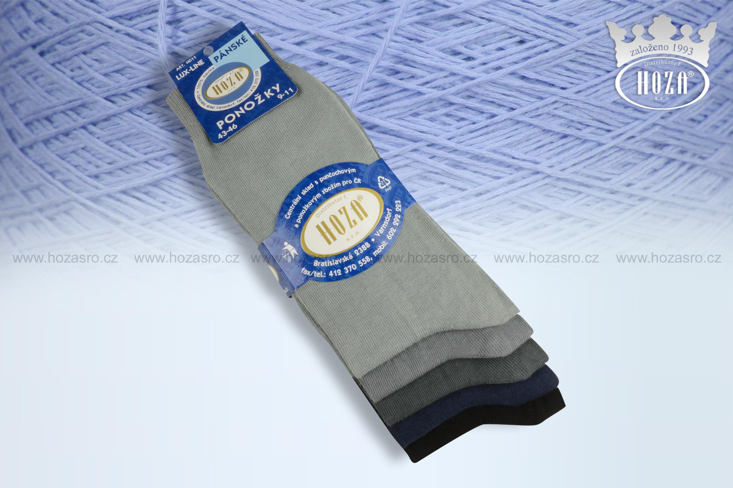 e205184758e Ponožky pro dospělé » Ponožky bavlněné-klasické -