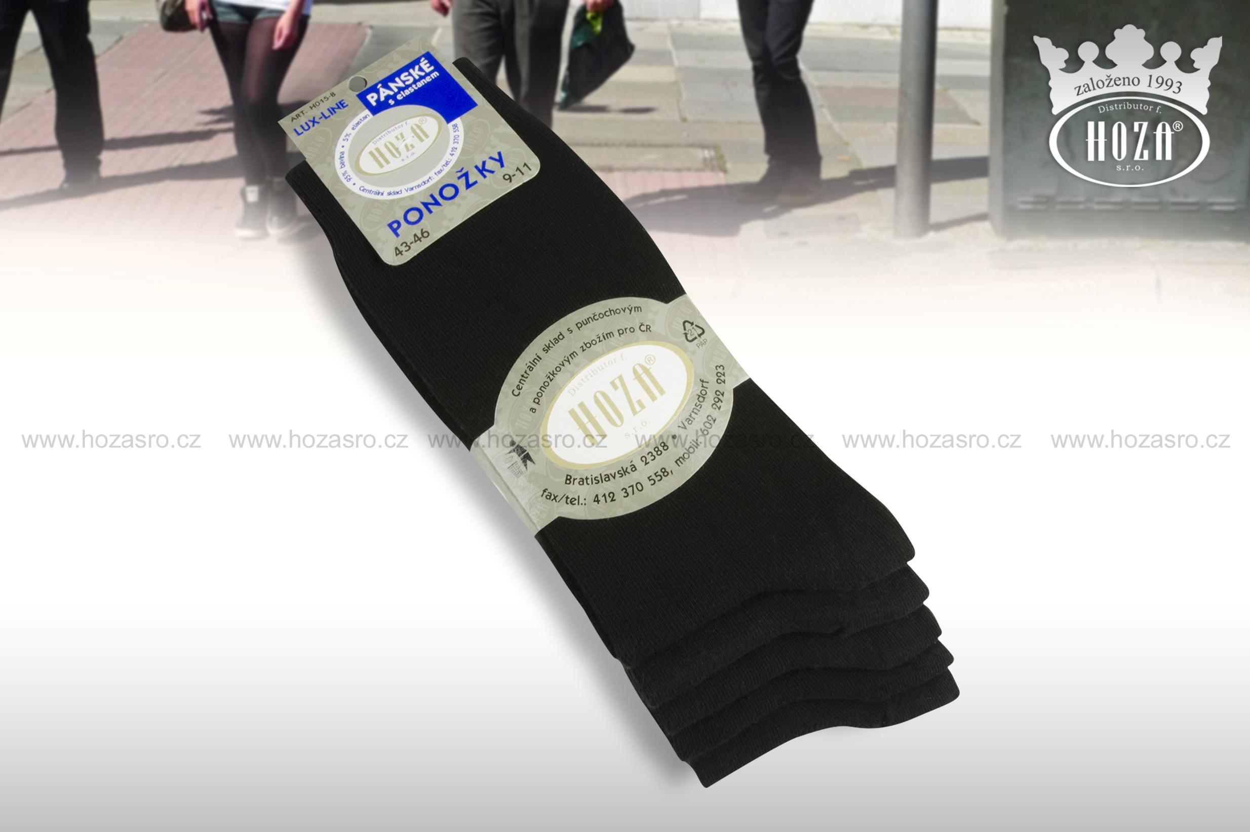 ... ponožky s elastanem - černé. otevřít v maximálním rozlišení f738352974