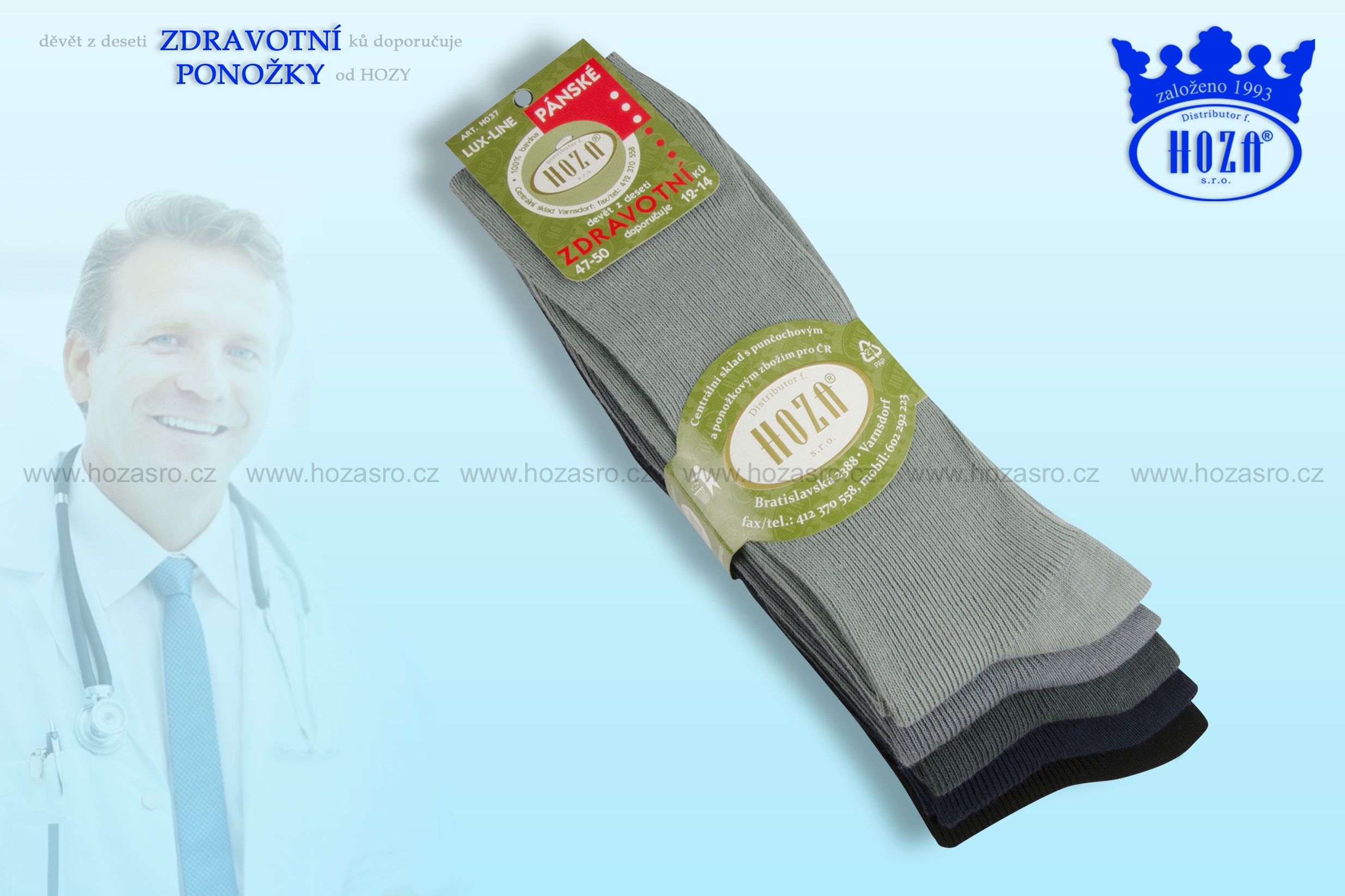 1ef54a6f18a Ponožky pro dospělé » Nadměrné velikosti -