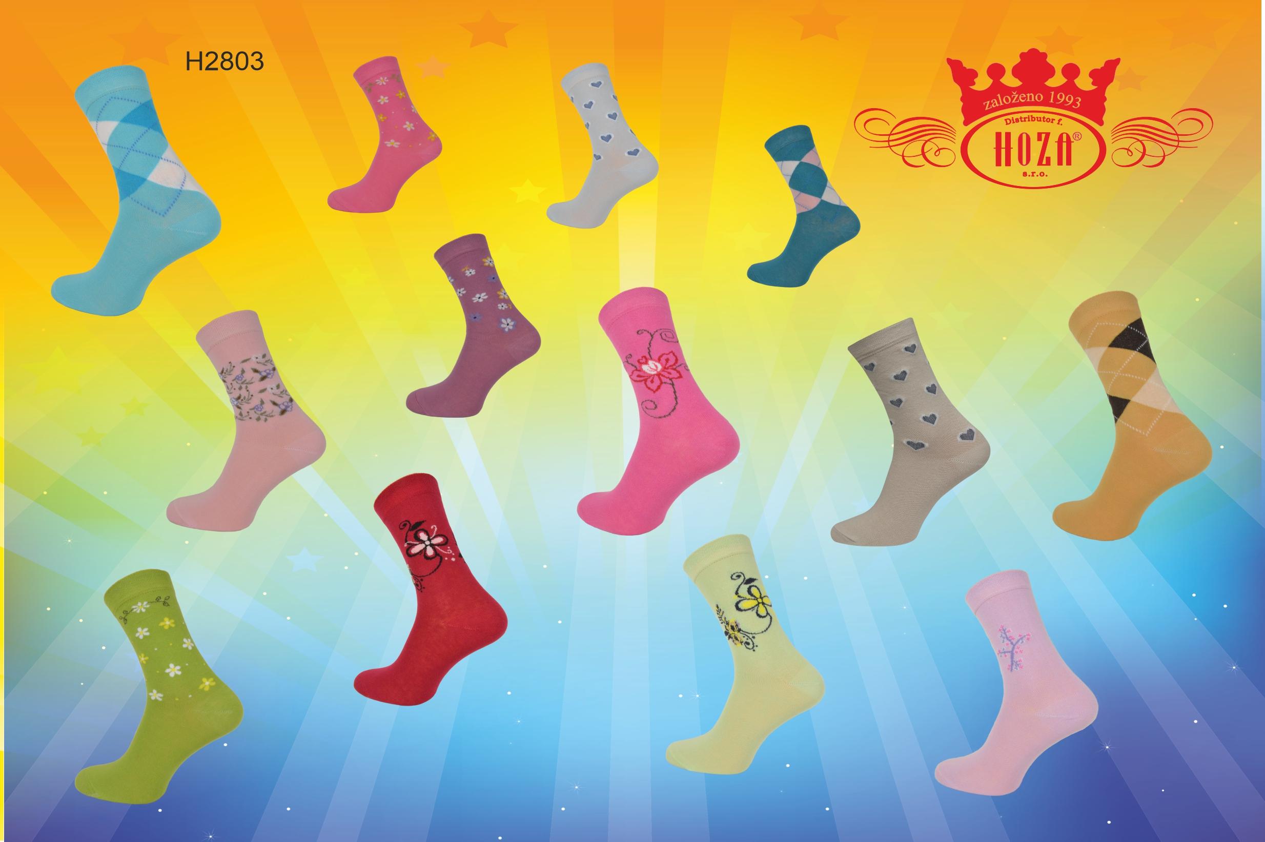 Ponožky pro dospělé » Ponožky s elastanem - ecb917d83b