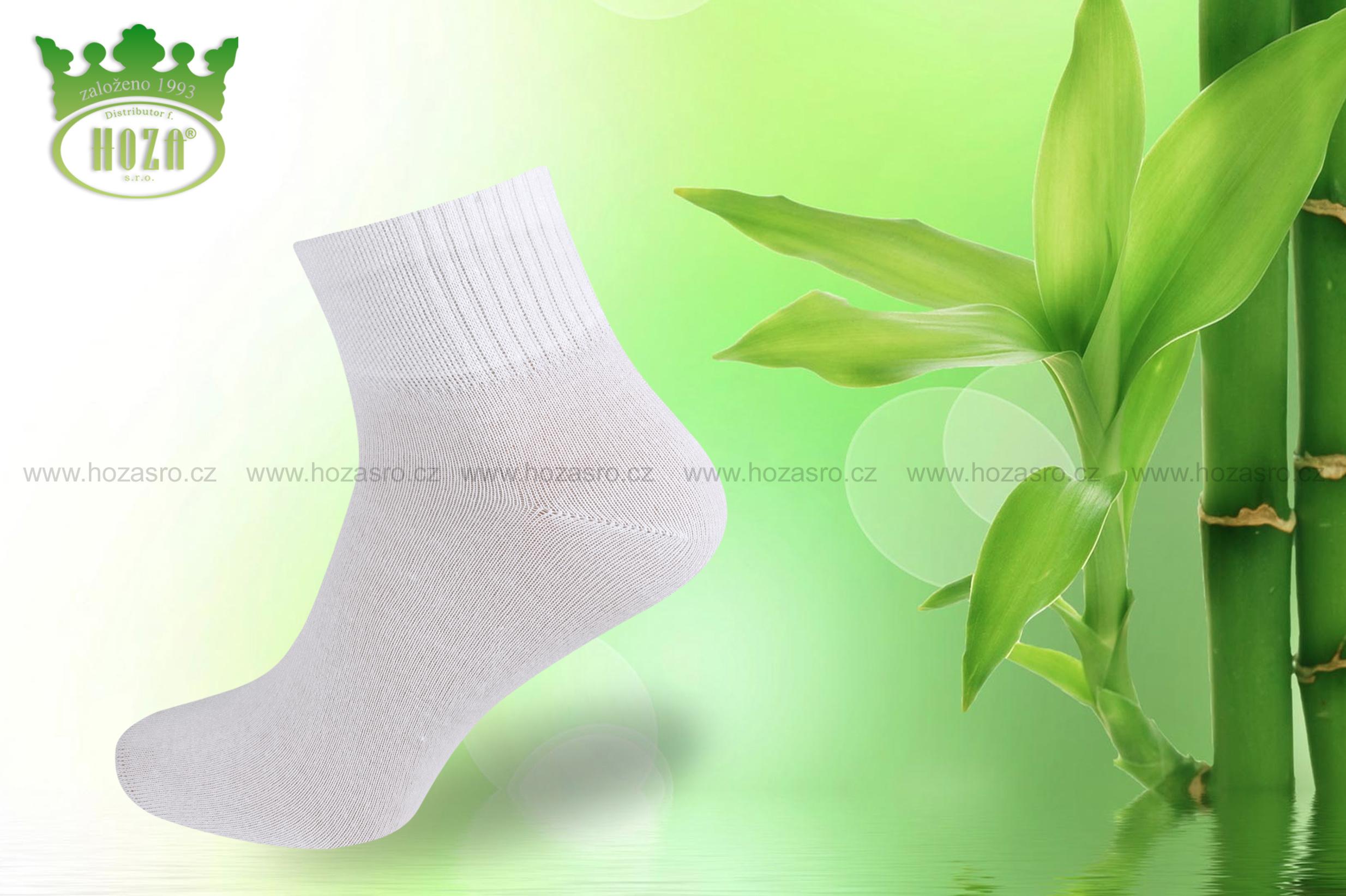 H5501 Pánské kotníkové antibakteriální bambusové ponožky HOZA. otevřít v  maximálním rozlišení 8fb06e4e93