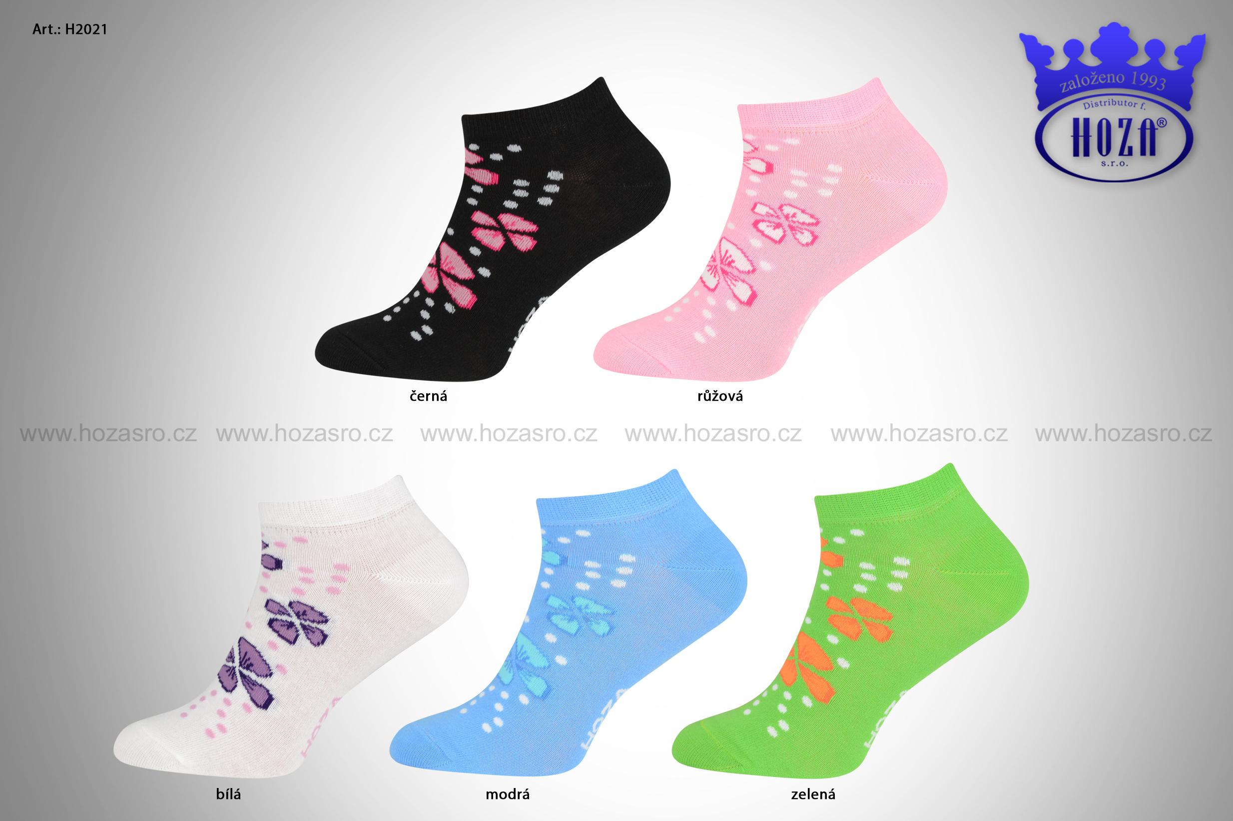 ... H2021 Dámské kotníkové ponožky - čtyřlístek - vyberte barvu.  katalog tmb h2021 barevna-kombinace.jpg 03ae59cf52