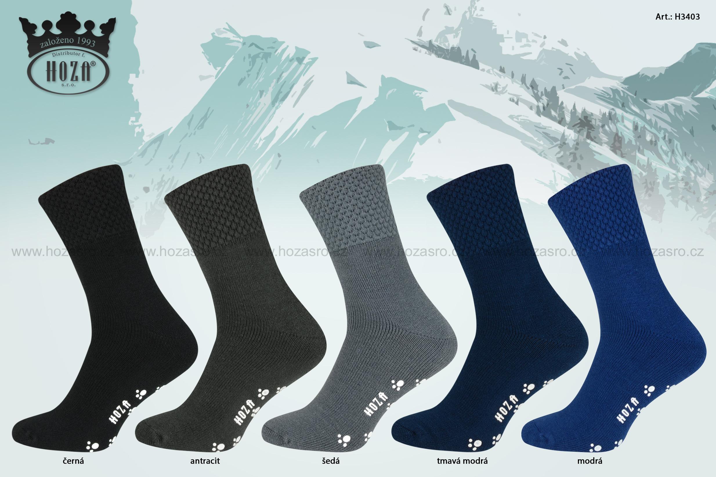 Ponožky pro dospělé » Ponožky s elastanem - d26f8e005f